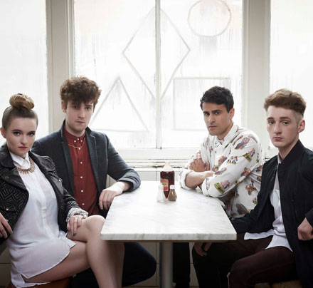 Band Members, Clean Bandit: Jack Patterson, Luke Patterson, Grace Chatto & Milan Neil Amin-Smith.