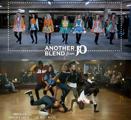 "Multi award winning choreographer Supple Nam works on a exciting commercial for J2O ""the Blend"""