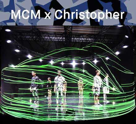 MCM and Chrisopher Raeburn SS17 London Fashion Week